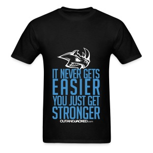 Stronger | CutAndJacked | Mens Tee - Men's T-Shirt