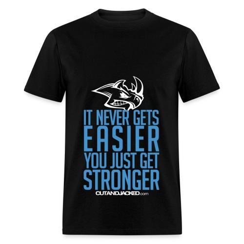 Stronger | CutAndJacked | Mens Tee - Men's T-Shirt