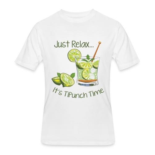 Tipunch Time - Men's 50/50 T-Shirt