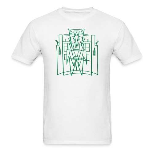 This is the City - Kustoms Los Angeles (for LIGHT shirts) - Men's T-Shirt