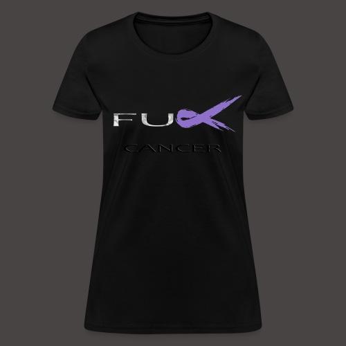 Womans F Cancer T Shirt  - Women's T-Shirt
