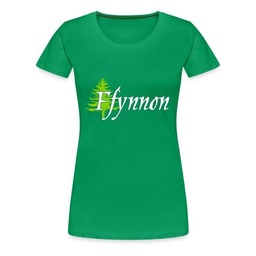 Ffynnon Green Tee - Women's Premium T-Shirt