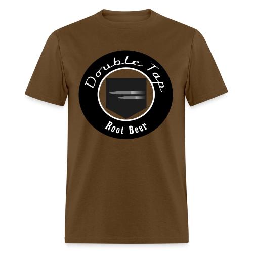 Double Tap Root Beer (Black) - Men's T-Shirt