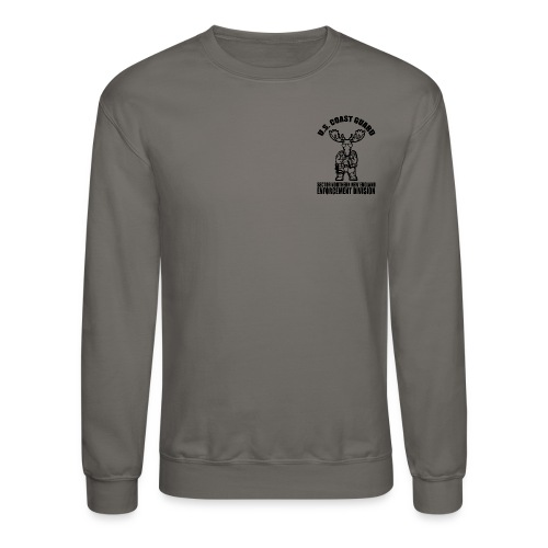 Enforcement Moose Long Sleeve - Crewneck Sweatshirt