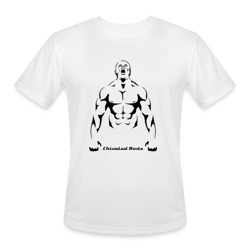 Chiseled Bodz Men's Moisture Wicking Performance T-Shirt - Men's Moisture Wicking Performance T-Shirt