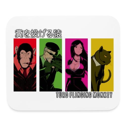 TFM Monkey Bebop Mousepad - Mouse pad Horizontal