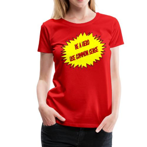 Women's Common Sense Logo Tee - Women's Premium T-Shirt