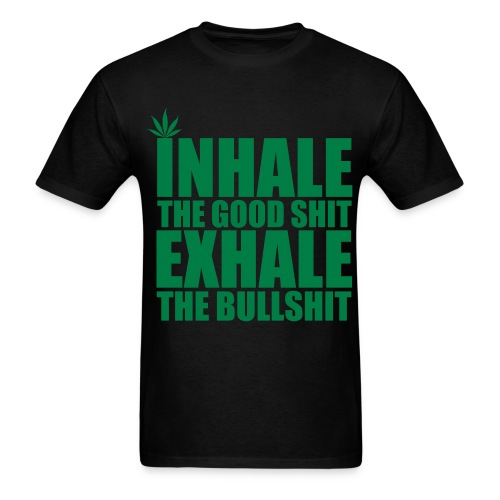 Inhale... Exhale (for men) - Men's T-Shirt