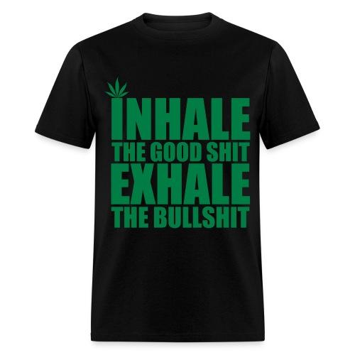 Inhale... Exhale (for men) - Men's T-Shirt