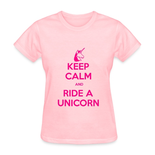 Neon Pink KC T - Women's T-Shirt