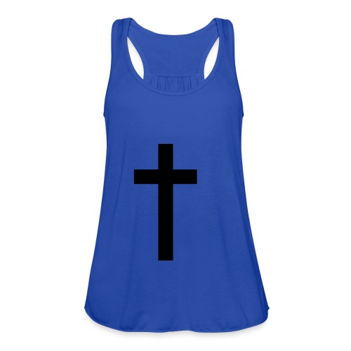 Cross tank - Women's Flowy Tank Top by Bella