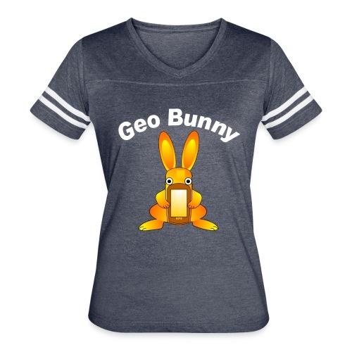 Geo Bunny - Women's Vintage Sport T-Shirt