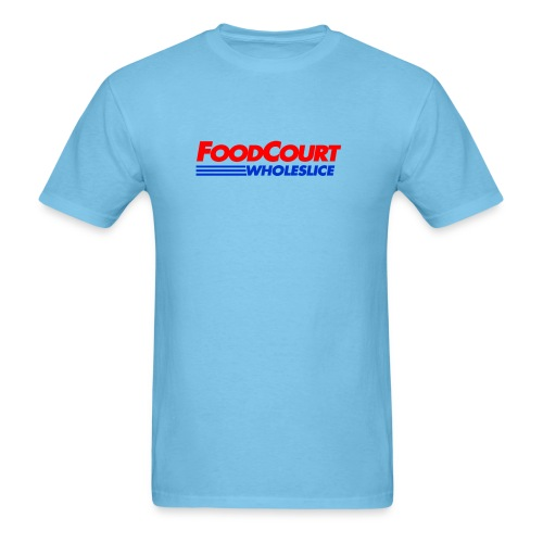 Food Court Pizza - Men's T-Shirt