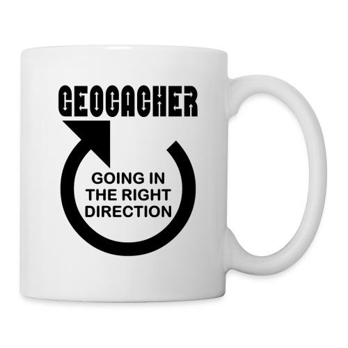 Geocacher Right Direction - Coffee/Tea Mug