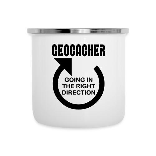 Geocacher Right Direction - Camper Mug