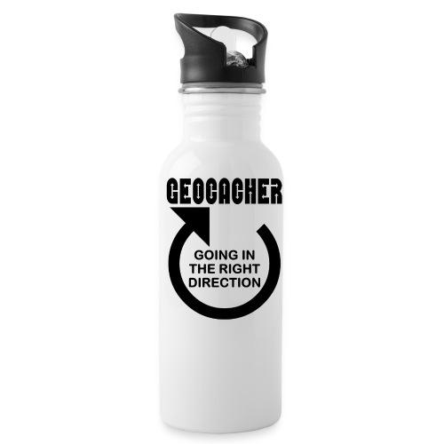 Geocacher Right Direction - Water Bottle