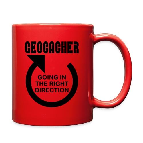 Geocacher Right Direction - Full Color Mug