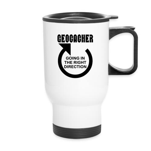 Geocacher Right Direction - Travel Mug