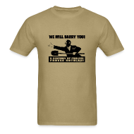 T-Shirts ~ Men's T-Shirt ~ We will Barry You! Obama with shovel