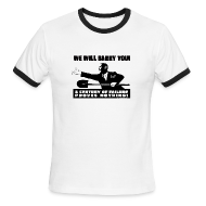 T-Shirts ~ Men's Ringer T-Shirt ~ We will Barry You! Obama with shovel