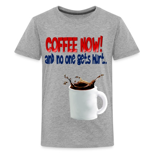COFFEE NOW - Kids' Premium T-Shirt