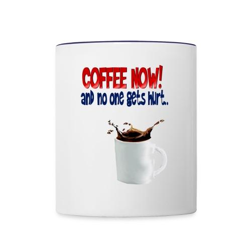 COFFEE NOW - Contrast Coffee Mug