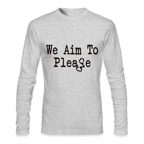 Aim To Please Long Sleeve Tee - Men's Long Sleeve T-Shirt by Next Level