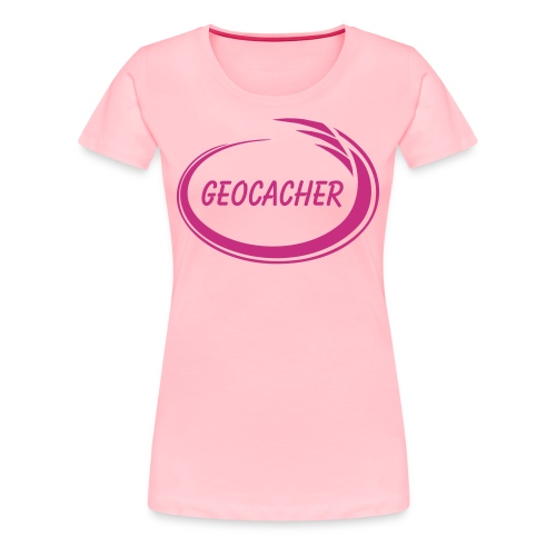 Geocacher Splash - Women's Premium T-Shirt
