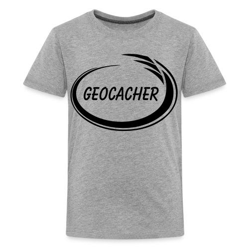 Geocacher Splash - Kids' Premium T-Shirt
