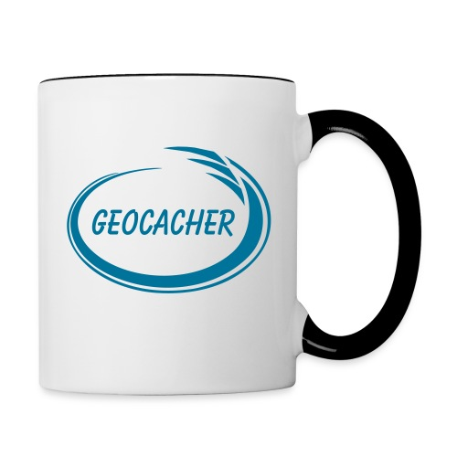 Geocacher Splash - Contrast Coffee Mug