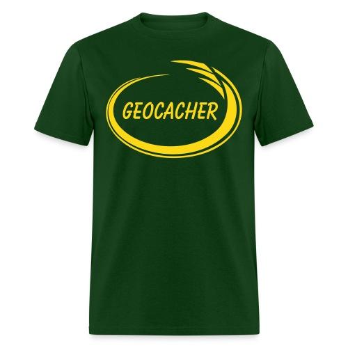 Geocacher Splash - Men's T-Shirt