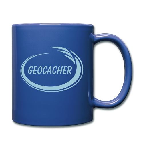 Geocacher Splash - Full Color Mug