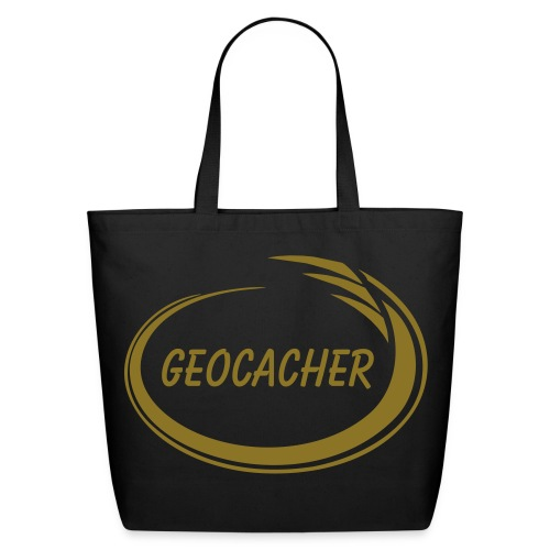 Geocacher Splash - Eco-Friendly Cotton Tote