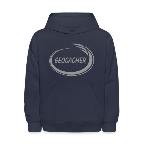 Geocacher Splash - Kids' Hoodie