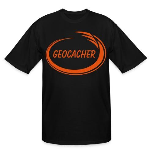 Geocacher Splash - Men's Tall T-Shirt