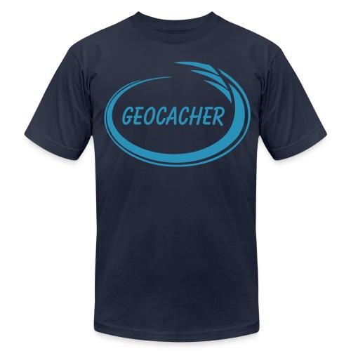 Geocacher Splash - Men's  Jersey T-Shirt