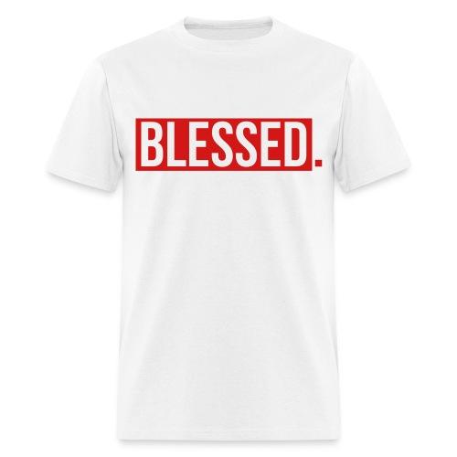 White Blessed T-Shirt - Men's T-Shirt