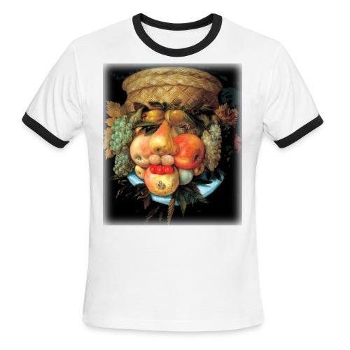 Arcimboldo - Fruit  - Men's Ringer T-Shirt