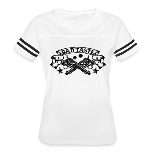 Crossed Revolver - Women's Vintage Sport T-Shirt