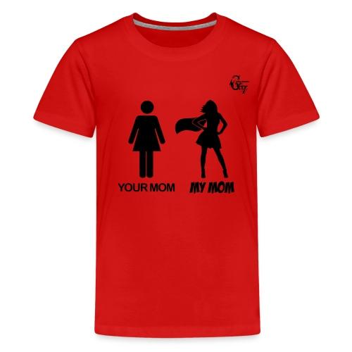 GV Kid T-Shirt Super Mom - Kids' Premium T-Shirt
