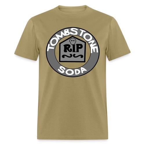 Tombstone Soda (Gray) - Men's T-Shirt