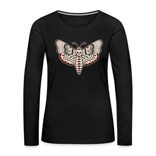 Death Head Moth - Women's Premium Long Sleeve T-Shirt