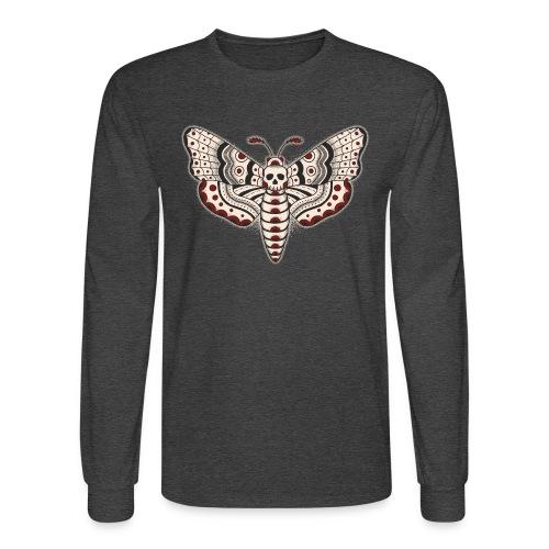 Death Head Moth - Men's Long Sleeve T-Shirt