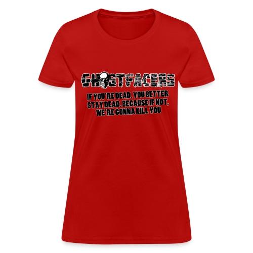 Women's Ghostfacers Tee - Women's T-Shirt