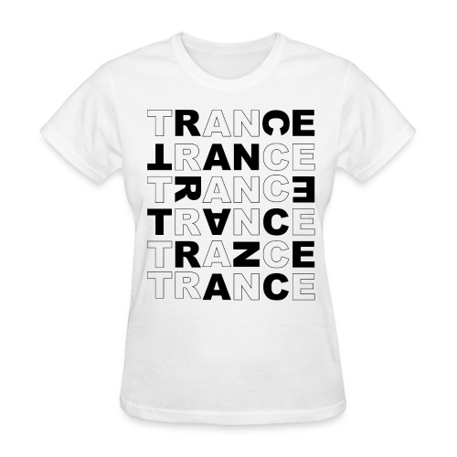Trance - Cross Letters - Women's T-Shirt