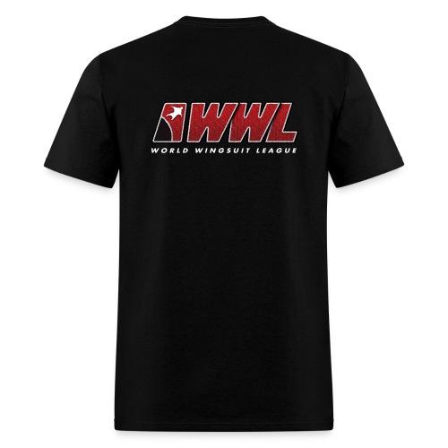 Standard - Black BACK PRINT - MEN - Men's T-Shirt