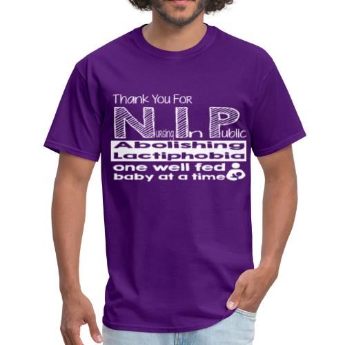 Thank you for nursing in public - Men's T-Shirt