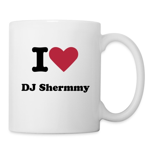 I Heart DJ Shermmy Mug - Coffee/Tea Mug