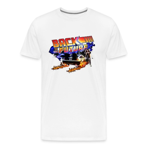Back to the Future - Men's Premium T-Shirt