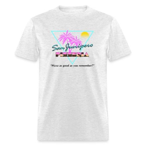 San Junipero Pizza - Men's T-Shirt